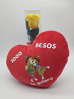 Rosa eterna Amarilla. Gratis TU ENVÍO. Rosa Amarilla eterna ...
