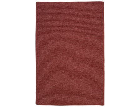 (Colonial Mills Westminster Rectangular 10' x 13' Braided Modern Area Rug In Red Solid)