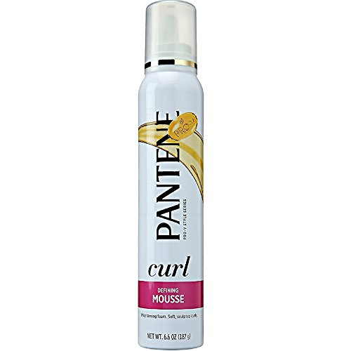Pantene Mousse Curl Defining Max Hold 6.6oz (2