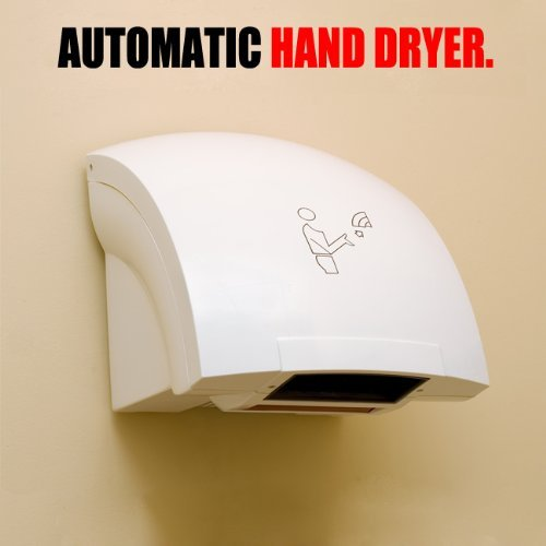 Touchless Hand Dryer (Automatic Hand Dryer Hands Free Electric Infrared Commercial Bathroom)