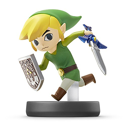 Toon Link amiibo - Japan Import (Super Smash Bros Series) (The Legend Of Zelda Wind Waker Part 2)