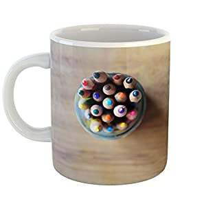 Westlake Art - Coffee Cup Mug - Colored Pencil - Modern Picture Photography Artwork Home Office Birthday Gift - 11oz (*9m-816-f50)