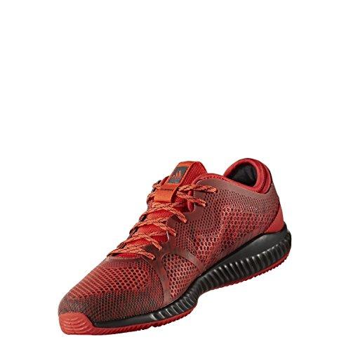 adidas Damen Gymnastikschuhe rot Bounce W Crazytrain O7qT74