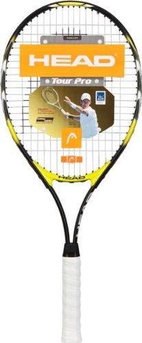 HEAD Tour Pro Strung Tennis Racquet (4 1/4)