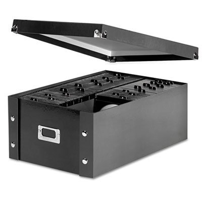 Media Storage Box, Holds 120 Slim/60 Std. Cases, Sold as 1 Each, 5PACK , Total 5 Each by Snap-N-Store