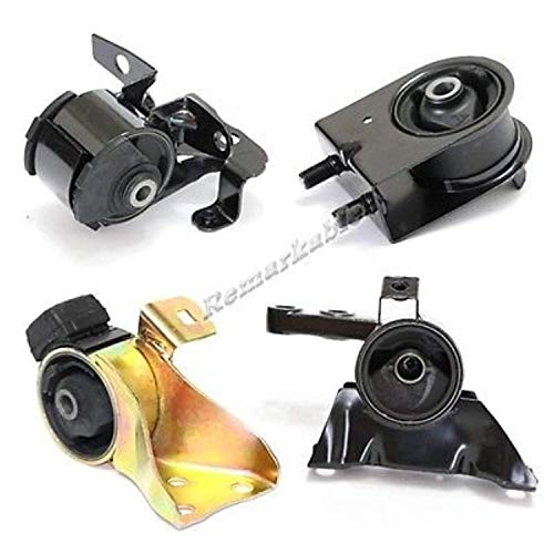 Remarkable Power G004 Fit For 1999-2001 Mazda Protege 1.6L Auto Trans Transmission Engine Motor Mount Kit