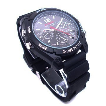 Fly-shop-16GB HD 1080P Watch Camera Cámara Water Resistant Reloj Espía Cámara Oculta