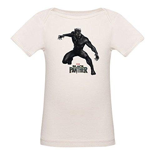 CafePress Black Panther Pose - Organic Cotton Baby (Day Organic Baby T-shirt)