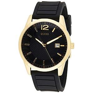 Guess Analog Black Dial Men's Watch-W0991G2