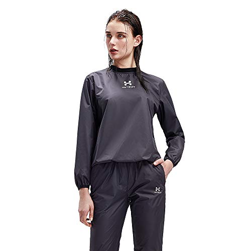 HOTSUIT Sauna Suit Women Weight Loss Sweat Jacket Gym Boxing Workout