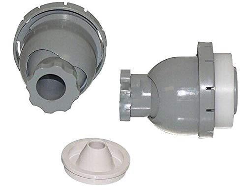 Hot Tub Classic parts Marquis Spa Hydro Air Vsr Spinning Eyeball, Gray MRQ320-6574 (Jacuzzi Eyeball)