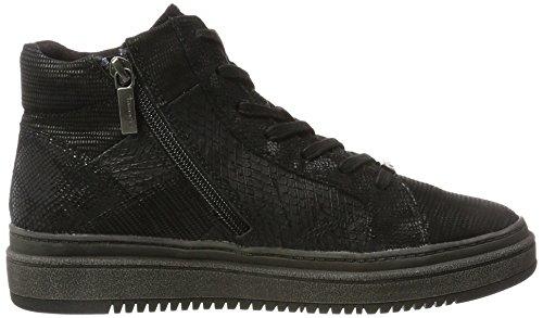 Sneaker Alta Tamaris Women 25224 Nera (pettine Nero)