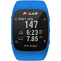 Polar Men's M400 90057188 Blue Silicone Quartz Watch