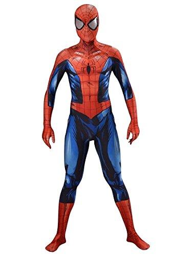 AestheticCosplay Bagley Spider-Man Cosplay Costume | Bagley Spiderman Suit | Bagley Costume | Spiderman Bodysuit (Extra Small) - Spiderman Body Suit