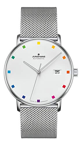 Junghans 027/4937.44 Men's Automatic Watch Form A 100 Years Bauhaus