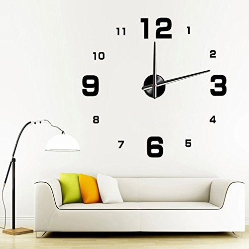 extra large contemporary wall clocks uk modern australia inch clock style watches hours room home decorations black