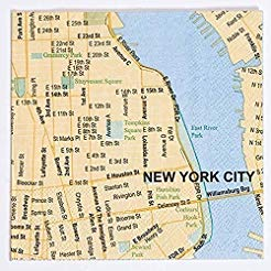 Design Ideas New York City Mapkins City Map Beverage -