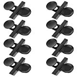 DGZZI Suction Cup Holder 8PCS Black Aquarium Fish