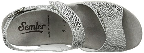 Semler Kvinder Ramona Strappy Sandaler Grå (grigio) PD0V7Fz4v