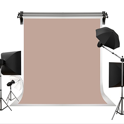 Kate Photo Backdrops for Photographers Retro Solid Beige Red Background Photography Props Studio Digital Printed Backdrop 5x7ft(1.5x2.2m)