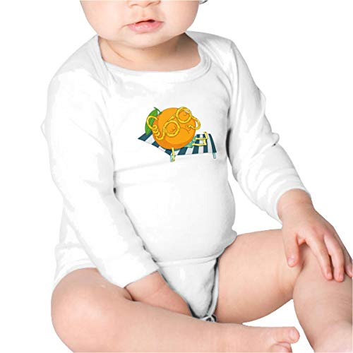 Price comparison product image Pikaqiuleilei Orange Juice Baby Cotton, Long Sleeve Creeping Suit