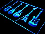 ADVPRO s091-b Guitars Weapon Band Bar Beer Neon Light Sign