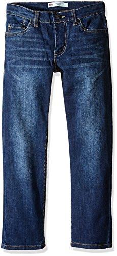 Levi's Boys' Little 511 Slim Fit Performance Jeans, Resilient Blue 7 -