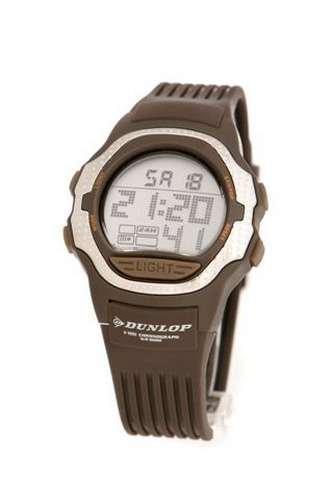 Dunlop Reloj Digital para Mujer de Cuarzo con Correa en Caucho DUN-36-L06: Amazon.es: Relojes