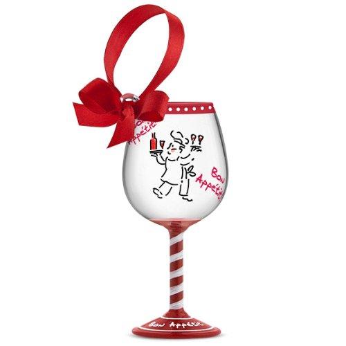 Wine Christmas Ornament - 5