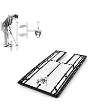 NIEUW! Putt trainingshulp - Golf Putting spiegel Uitlijning (30 x 15 cm)   Oefenapparaat voor golftraining, Verbeter je setup, Oogplaatsing, Schouderuitlijning, Hoek, Gezichtsveld en nog veel meer