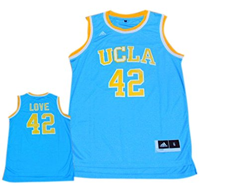 a076f5e25b5d UCLA Bruins 42 Kevin Love Blue Basketball Jersey Size-XL - Buy Online in  Oman.