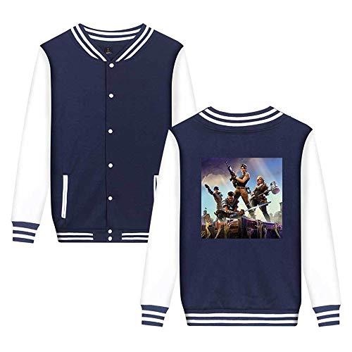 Leggera Unicorno Casual Da Baseball Unisex Comode Moda Stampate Aivosen Sweatshirts Giacca Fortnite Blue5 Semplice qzTCnEg