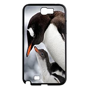 DDOUGS Penguin Brand New Cell Phone Case for Samsung Galaxy Note 2 N7100, DIY Penguin Case