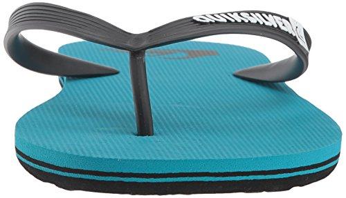 Quiksilver Men's Molokai Sandal, Black/Blue/Blue, 13 M US by Quiksilver (Image #4)
