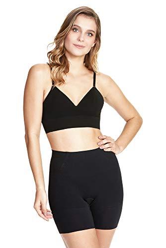 Shorts modelador skin, Plié, Feminino, Preto, P