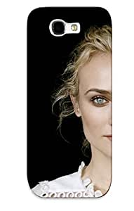 Crazinesswith Galaxy Note 2 Well-designed Hard Case Cover Diane Kruger Protector For New Year's Gift