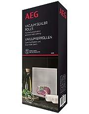 AEG AVSR1 Vacuümrollen (geschikt voor koel- en vriezer, vershouden, conserveren, koken, sous-vide-garen, 7-laags, scheurvast, individueel op maat te snijden, -30 °C tot 110 °C, transparant)