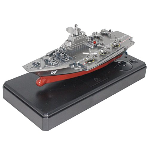 ToySharing Remote Control Aircraft Carrier Battleship RC War