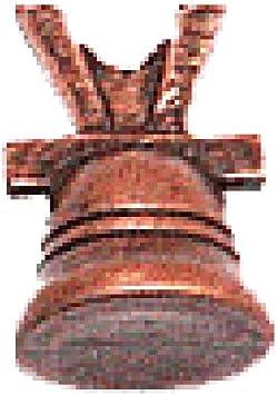 Domus Kits 3700, set de 3 campanas de cobre en miniatura