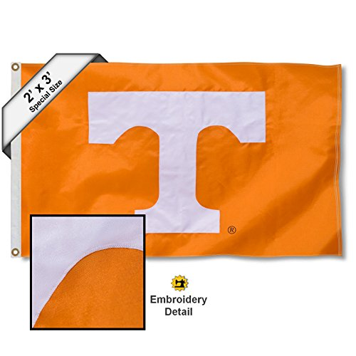 - College Flags and Banners Co. Tennessee Volunteers 2x3 Foot Embroidered Flag