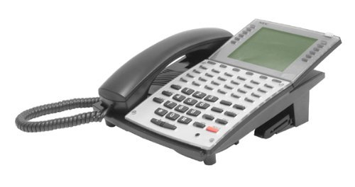 NEC Aspire 34 Button Super Display Telephone BLACK Stock # 0890049 ~ IP1NA-24TSXH TEL