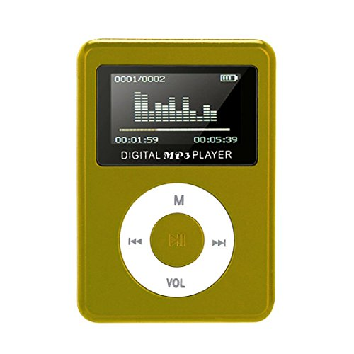 WensLTD Clearance! USB Mini MP3 Player LCD Screen Support 32GB Micro SD TF Card ()