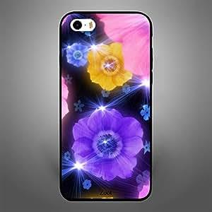 iPhone 5 Yellow purple Flower