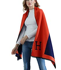 Soft and Warm Ladies Women's Winter ScarvesFEATURES:-Brand new and high quality-Its special design will make you look unique-It is a good gift for your lover,family,friend and coworkersMATERIAL:The scarf is made of faux cashmere, cuddly and s...