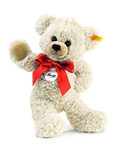 Steiff Lilly Dangling Teddy Bear Plush, Cream, 28cm