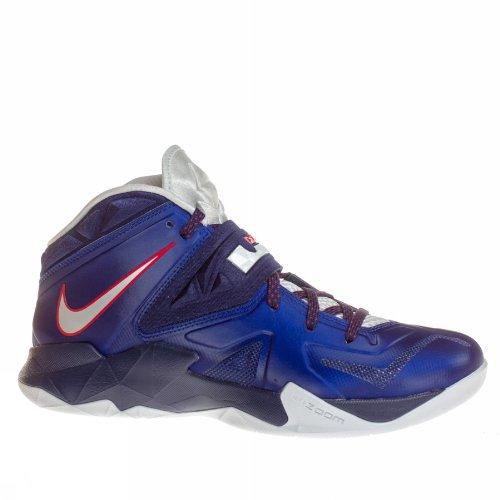 Nike Lebron Mens Zoom Soldier VII Basketball Shoes Deep Royal
