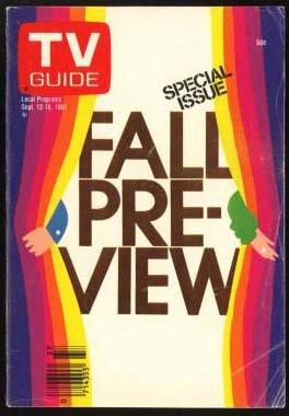 TV Guide Fall Preview Special Issue September 12-18, 1981 (Tv Guide September 1981)