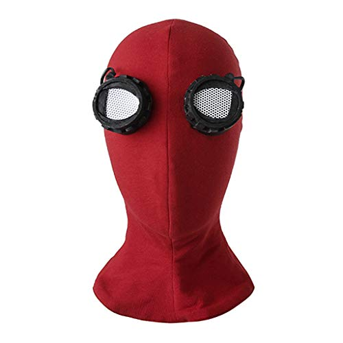 CosplayDiy Men's Suit for Homecoming Cosplay Costume Mask -