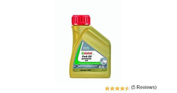 Castrol 17926585 - Aceite sintético para suspensión de motocicletas (10W, 500 ml): Amazon.es: Coche y moto