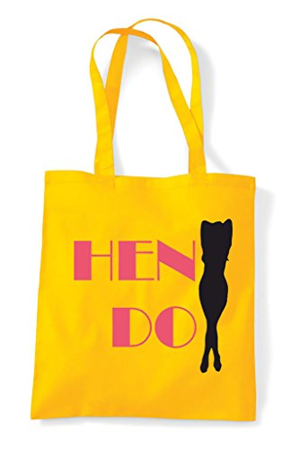 Do White Party Silhouette Personalised Shopper Customised Bag Hen Tote Sexy q1RpXpx